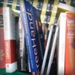 Freehand (Buch) in der Givebox Köln