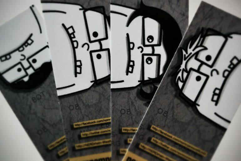 Foto der MOO Cards