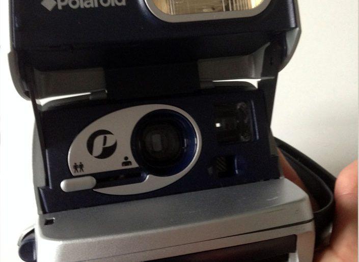 Minus 1 Polaroid Sofortbildkamera